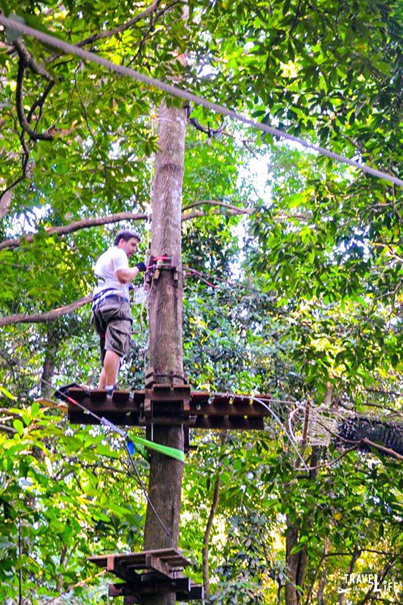Koh Chang Thailand Treetop Adventures