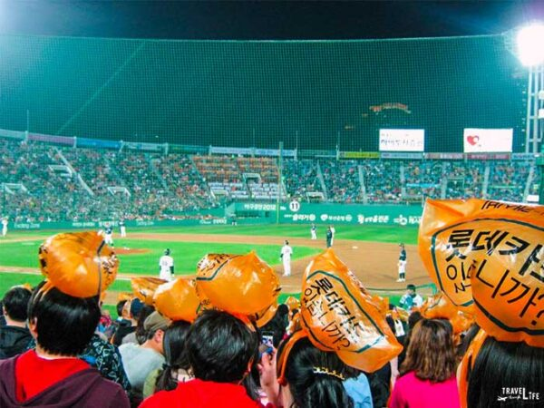 Spring Things to Do in South Korea Lotte Giants  Busan Image
