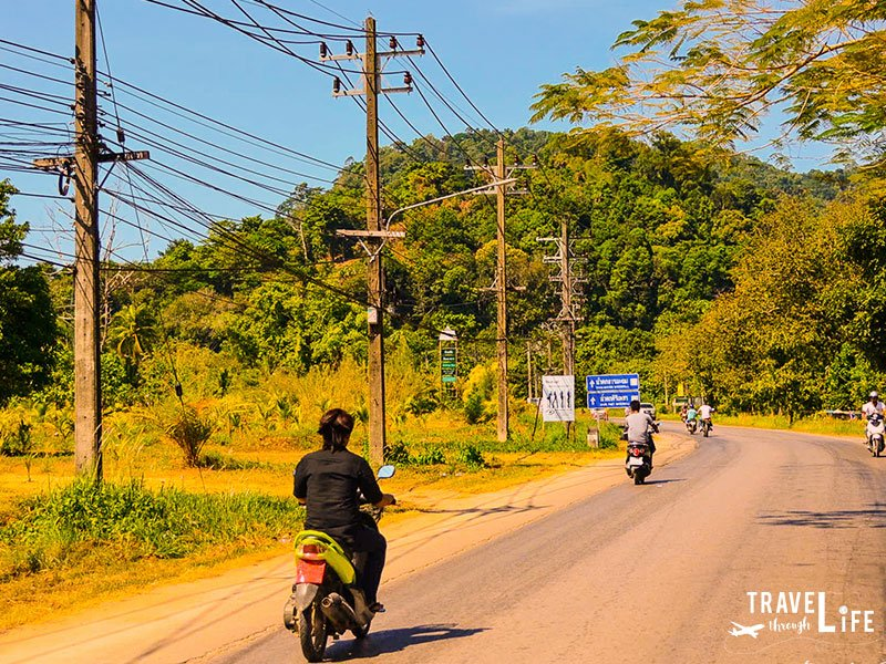 Thailand Koh Chang Roads