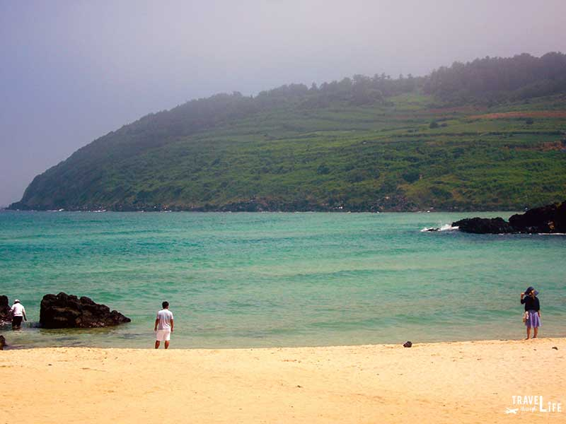 South Korean Holidays Jeju Island Beach