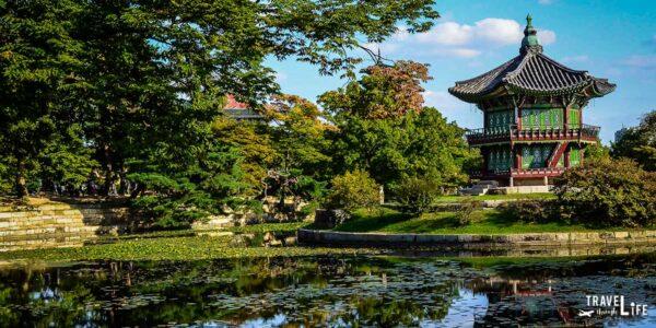 Gyeongbokgung Hyangwonji Pond in Seoul South Korea Travel Guide