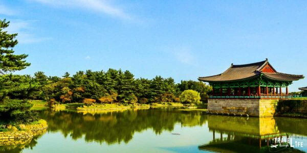 Gyeongju Anapji Pond South Korea Travel