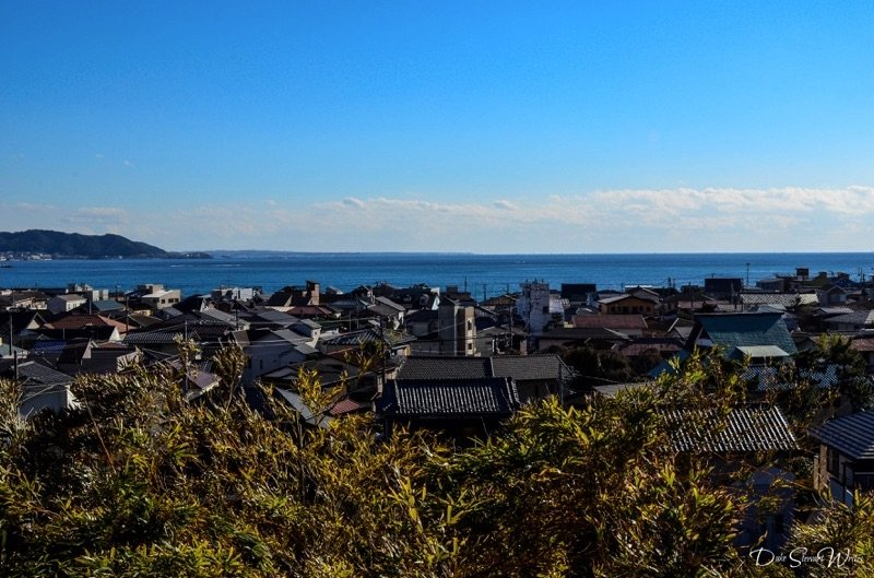 Kamakura and the Pacific Ocean