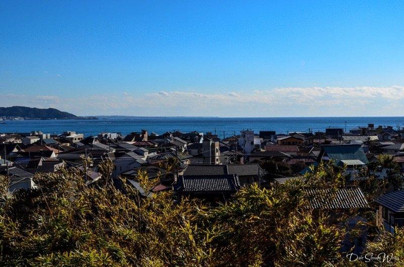 Kamakura and the Pacific Ocean