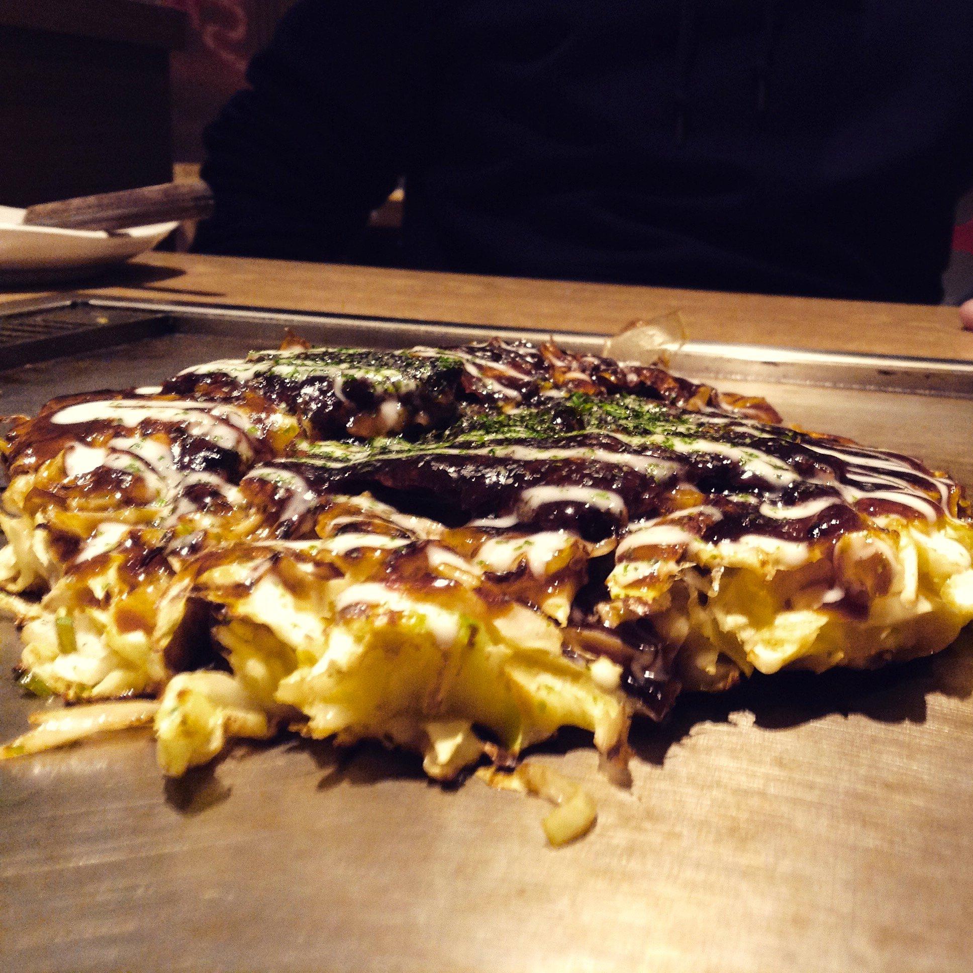 Okonomiyaki, Osaka