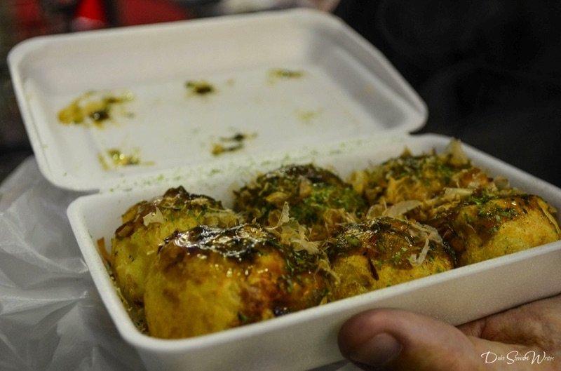 Takoyaki with Ponzu Sauce, Osaka
