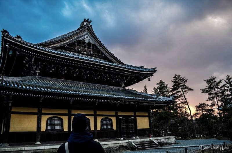 Travel without Directions in Kyoto