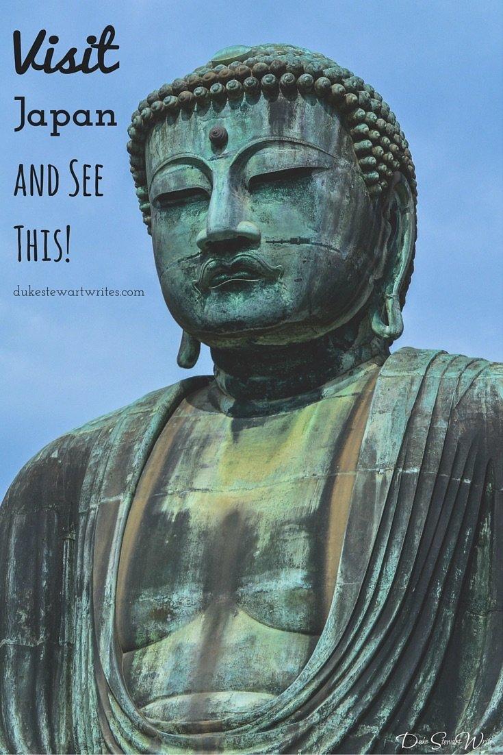 Visit Japan and See the Kamakura Daibutsu!