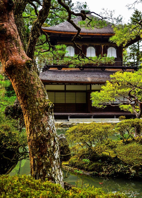 Facing Japan's Ginkakuji, Kyoto