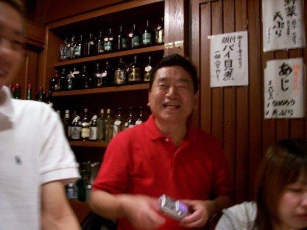 Smiling Kunio Nishimura