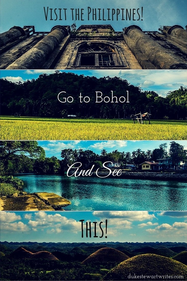 Visit the Philippines, Go to Bohol and See This! By Duke Stewart
