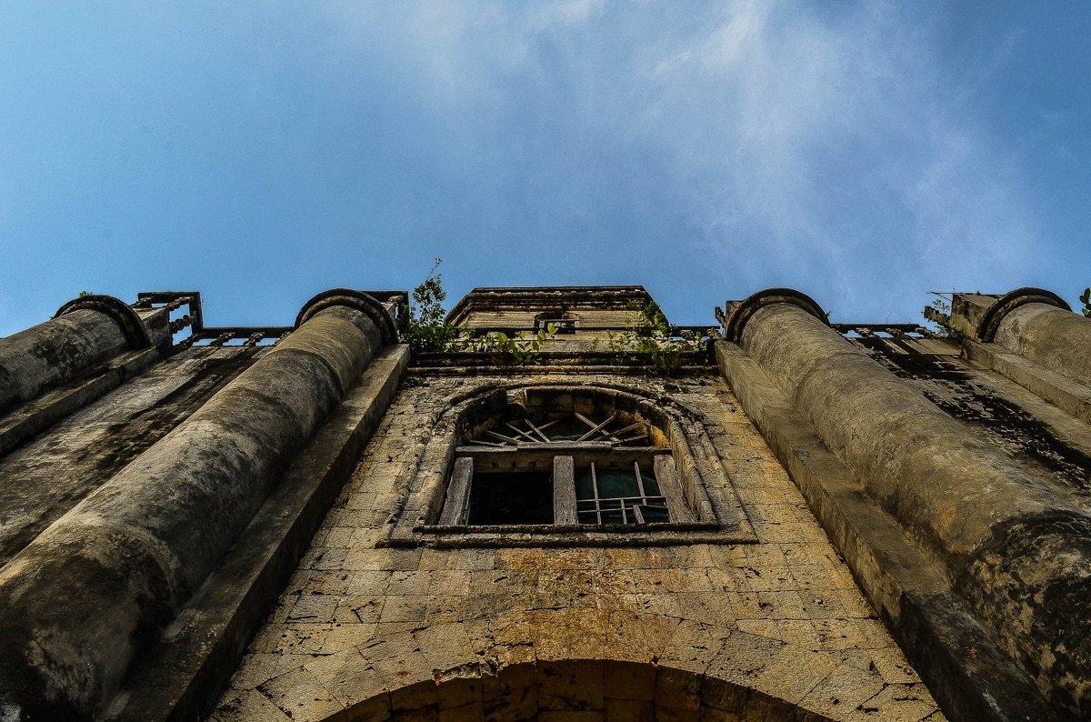 Bohol, Looking up to Santa Monica Cathedral