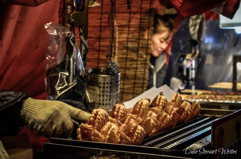 Bungeoppang fish bread Nampo Dong Busan Korea
