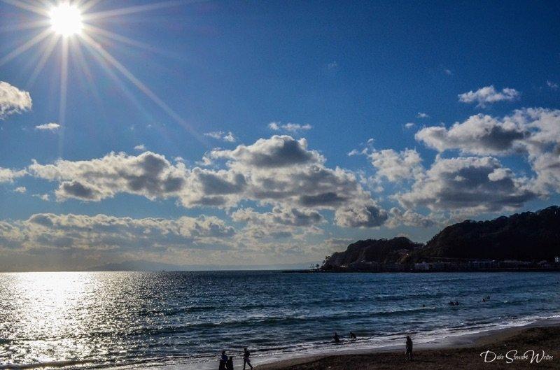 Japan, Kamakura - Walking around Yuigahama Beach