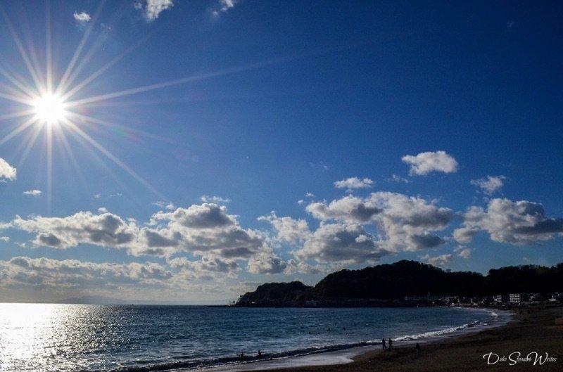 Kamakura, Japan - Walking around Yuigahama Beach