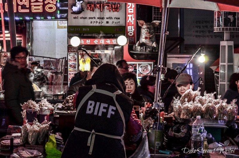 Nampo Dong Pojangmacha Busan Korea