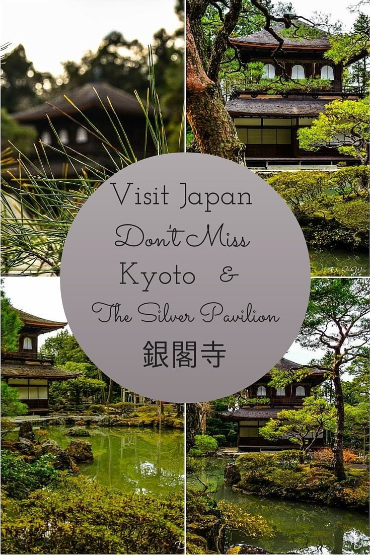 Visit Japan and see the Ginkakuji in Kyoto!