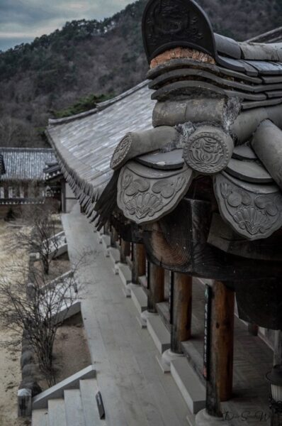 Rooftop of Haeinsa Temple Gayasan National Park South Korea
