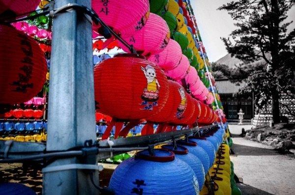 Songgwangsa Lanterns, Wanju South Korea