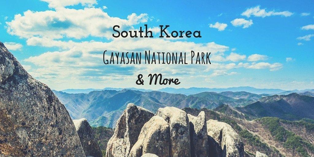 South Korea Gayasan National Park by Duke Stewart