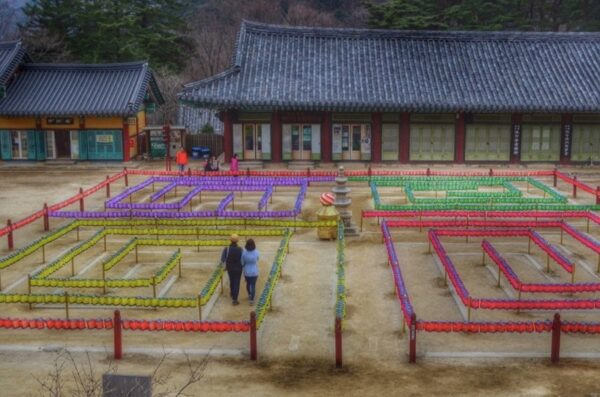 South Korea Haeinsa Temple Prayer Maze