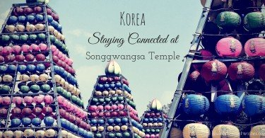 South Korea, Staying Connected at Songgwangsa Temple