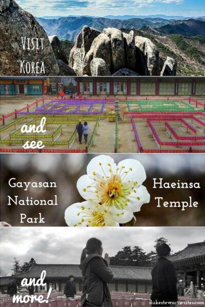 Visit Gayasan National Park South Korea