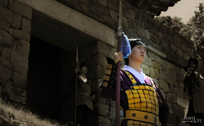 Image of Guard Ceremony at Gonju Fortress South Korea