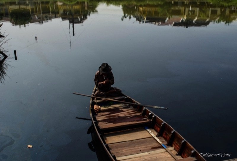 Vietnam Hoi An Fisherman