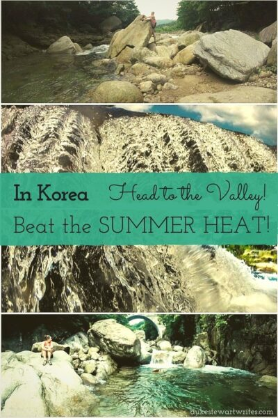 South Korea Beating the Heat at the Valley in Gwangyang