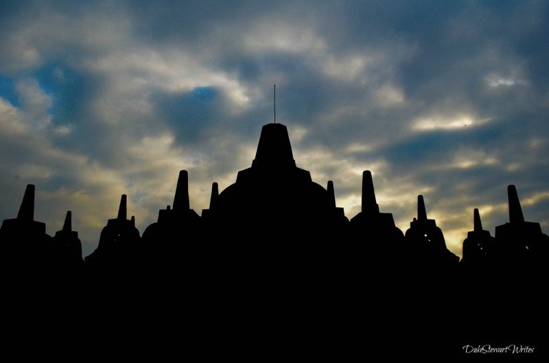 Borobudor Sunrise, Indonesia