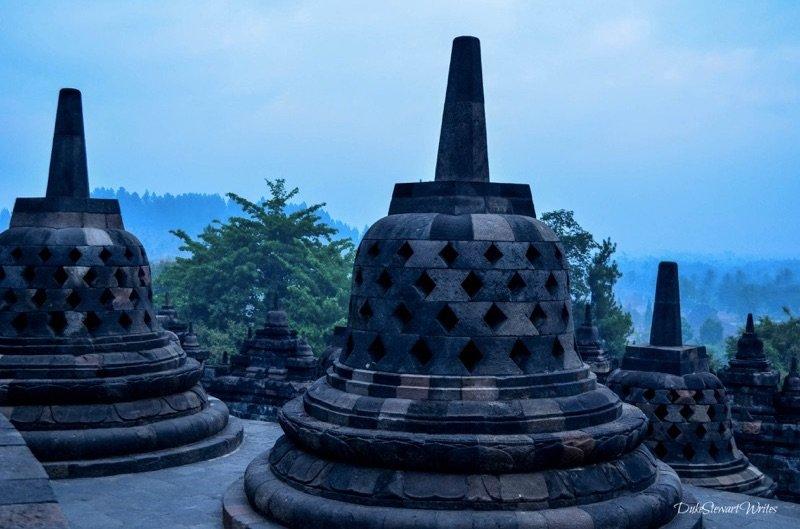 Borobudur Stupas, Indonesia
