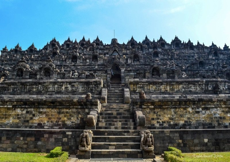 Borobudur from Below