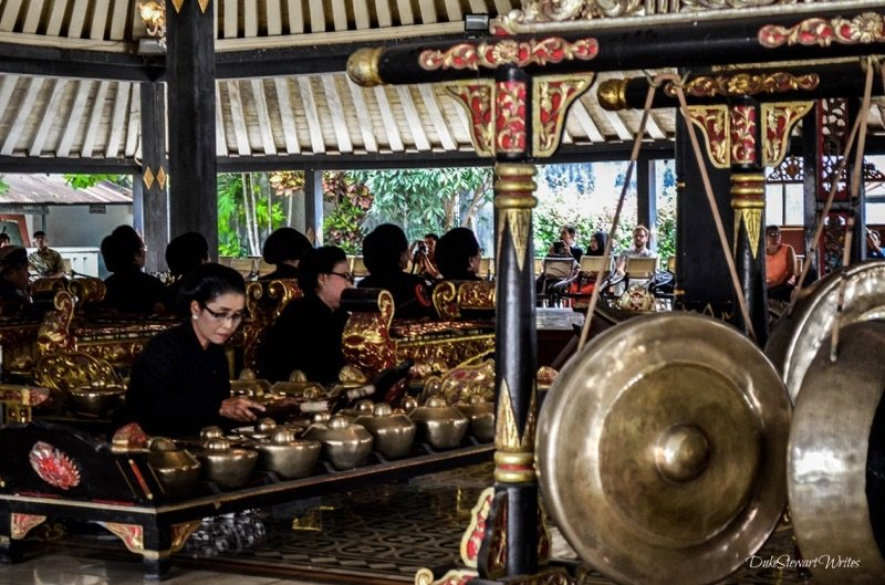 Morning Gamelan Performance inside the Kraton, Yogyakarta Indonesia