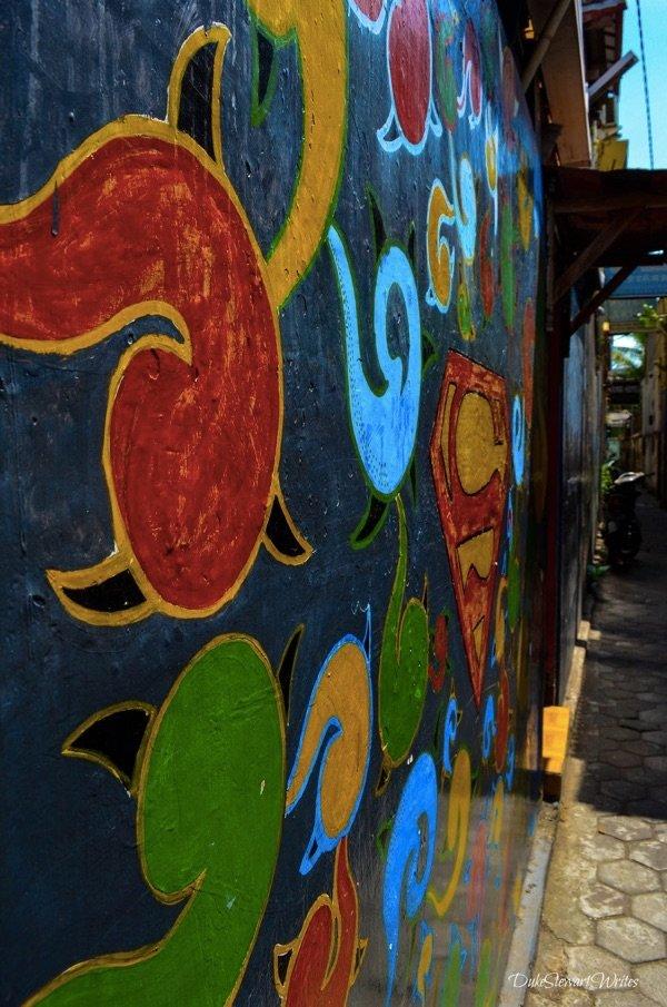 So much color in Malioboro. Yogyakarta, Indonesia