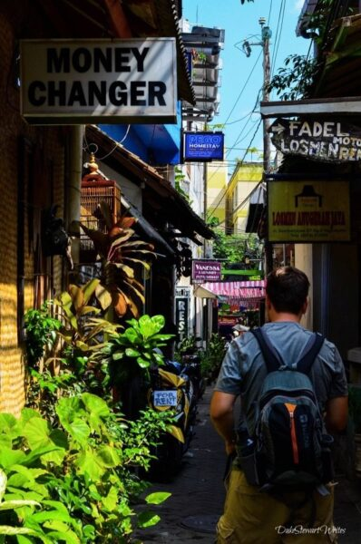 Walking through the Malioboro Alleys in Yogyakarta, Indonesia