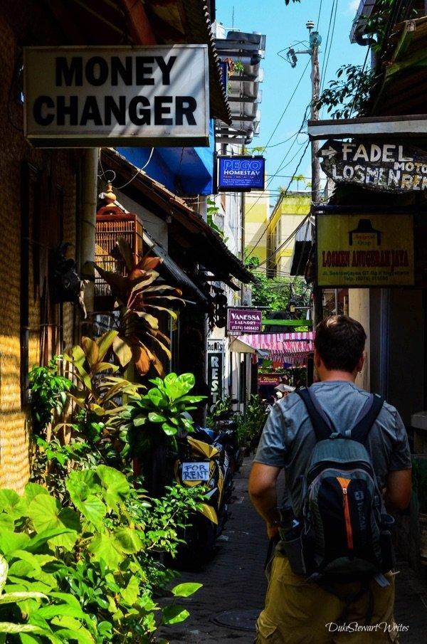 Walking through the Malioboro Alleys in Yogyakarta, Indonesia