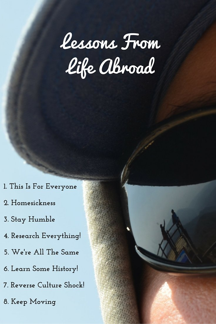 Lessons from Life Abroad