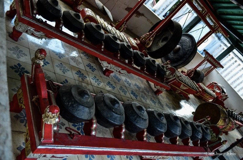 Ceremonial Dishes found inside the Kraton