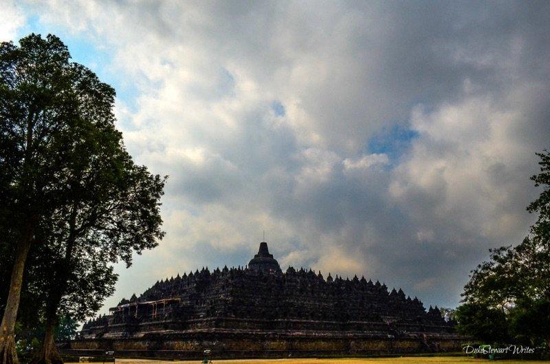 Borobudur from a distance