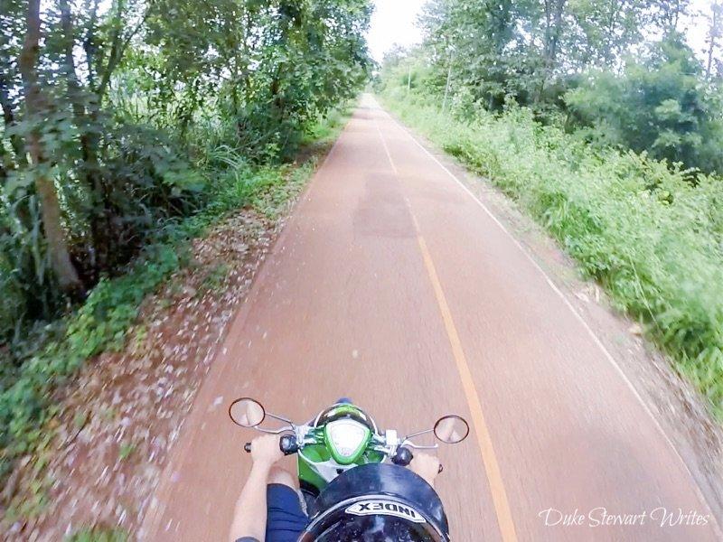 Driving around Northern Thailand