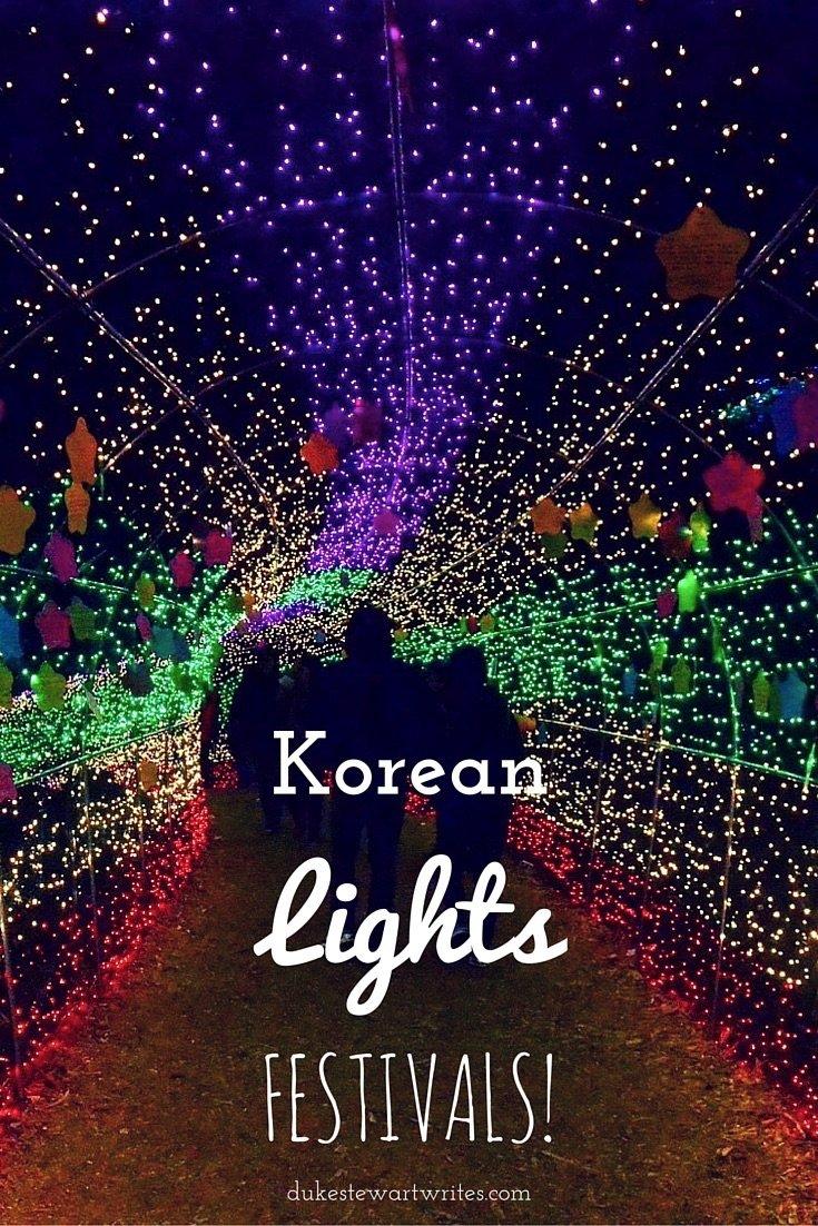 Korean Lights Festivals by Duke Stewart and Friends