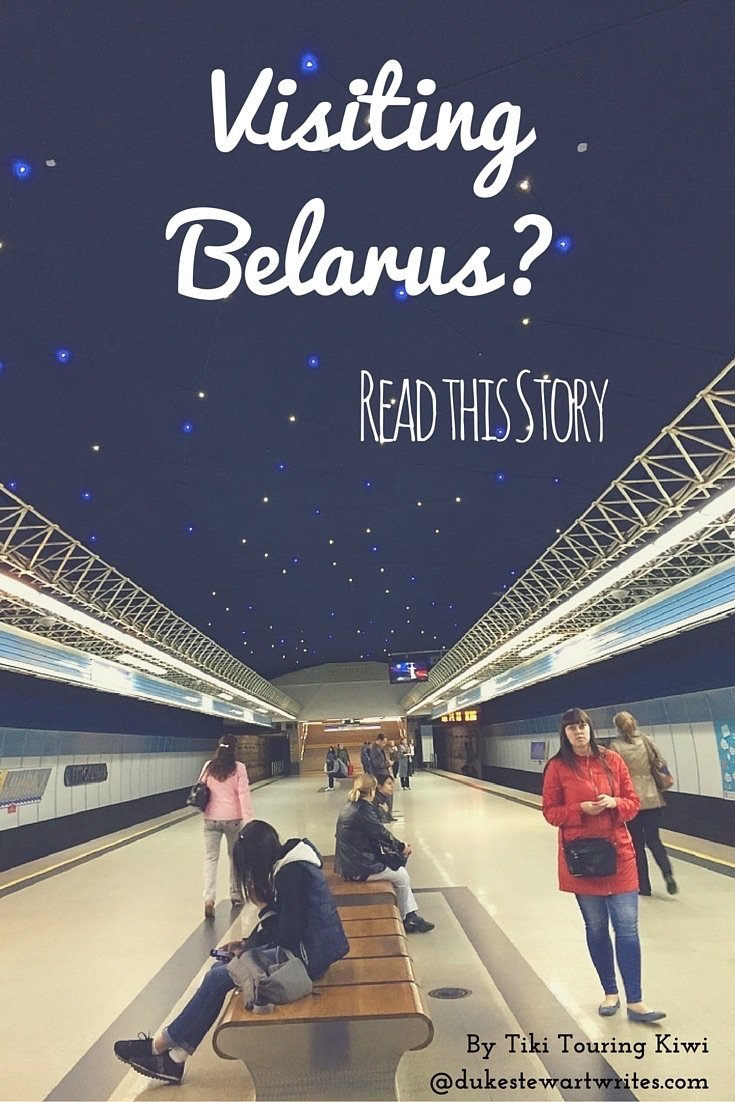 Visit Belarus like Tiki Touring Kiwi did!