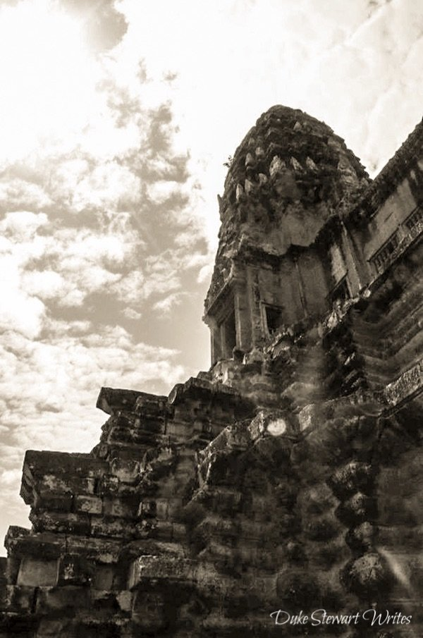 Angkor Wat in Black and White