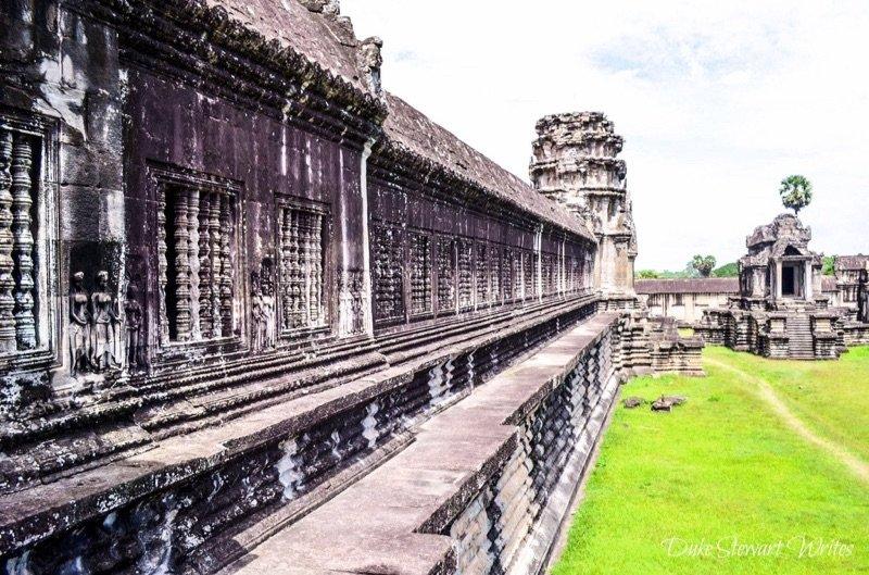 Angkor Wat interior wall