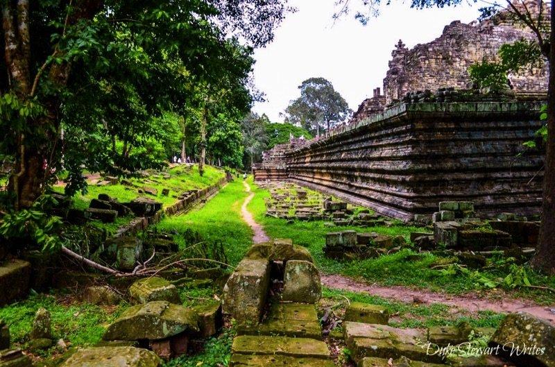 Baphuon Temple Rear Wall