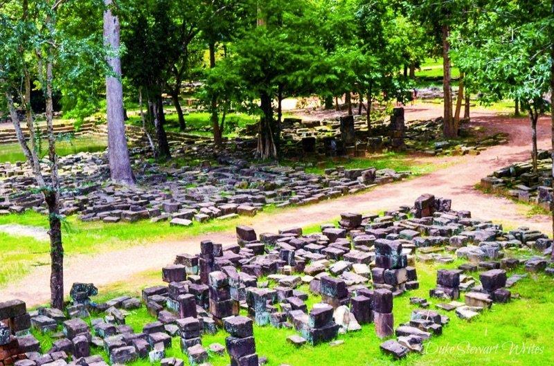 Baphuon Temple ruins
