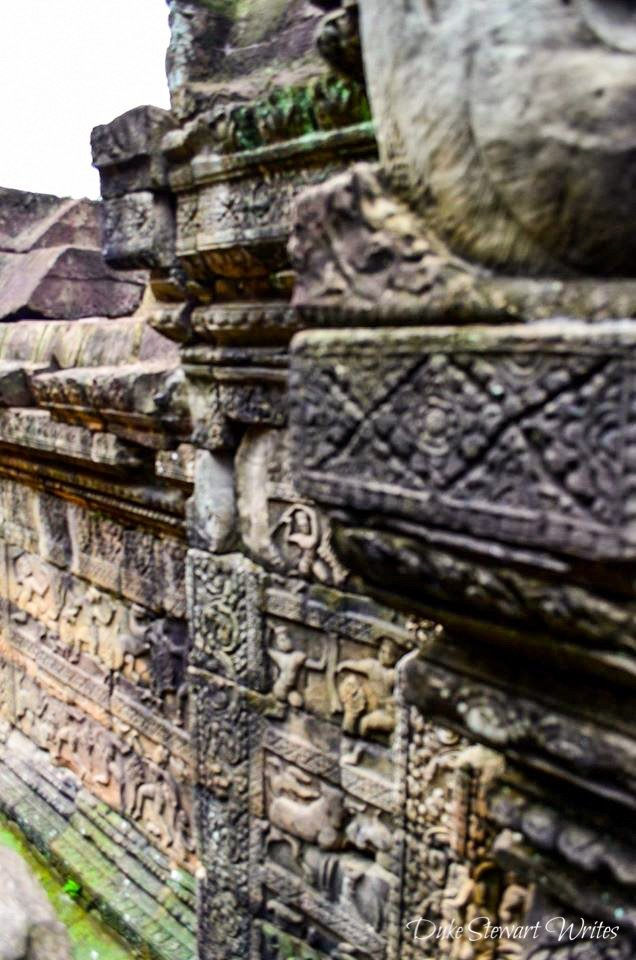 Carvings on Baphuon Temple Level 3