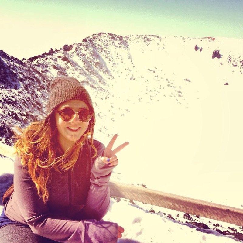 Hiking Hallasan Korea in Winter by Laura Nailin