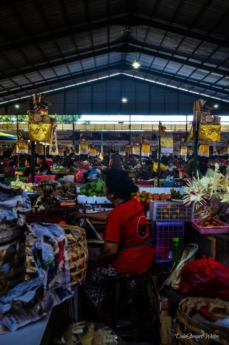 Local Market in Bali Indonesia